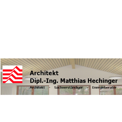 Architekt Dipl.-Ing. Matthias Hechinger