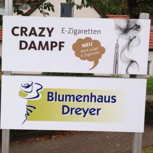 Blumenhaus Dreyer Crazy Dampf...