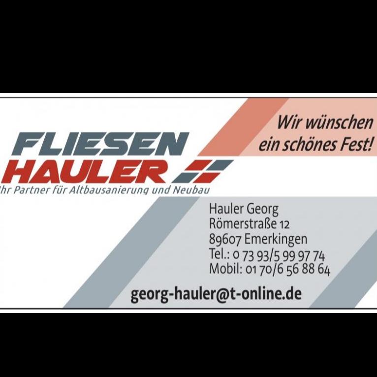 Fliesen Hauler - Ihr Partner für Altbausanierung und Neubau